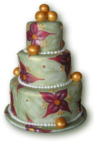 3-tier upholstery cake